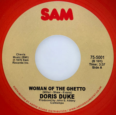 #343 Woman Of The Ghetto / Instrumental - Doris Duke