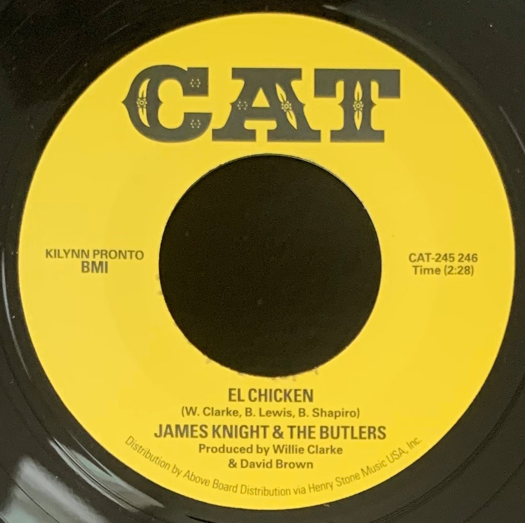 #345 Save Me / El Chicken - James Knight & The Butlers