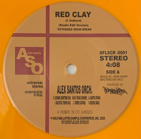 #431 Red Clay / Nautilus - Alex Santos Orch.
