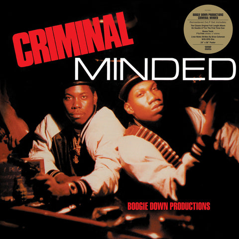 #235 Boogie Down Productions-Criminal Minded Double Gatefold Album