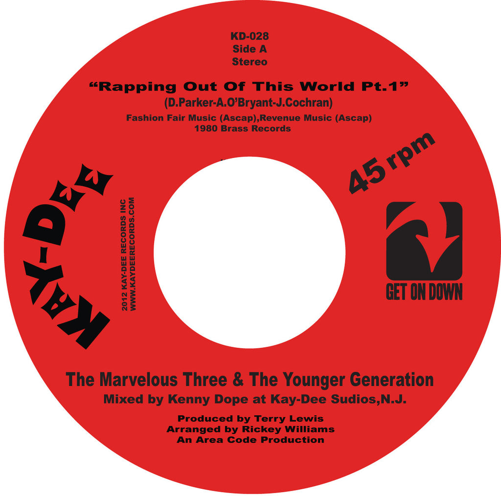 KD-028 The Marvelous Three & the Younger Generation-Rappin Out Of This World