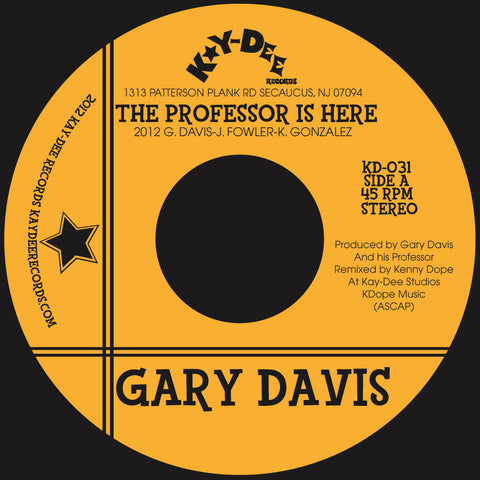 KD-031 Gary Davis-The Professor Is Here