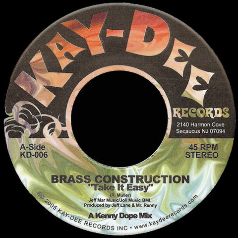 KD-006 Brass Construction-Take It Easy
