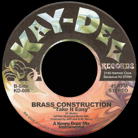 KD-006 Brass Construction - Take It Easy Kenny Dope Mixes