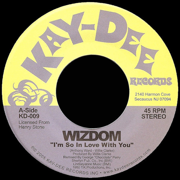 KD-009 Wizdom-I'm So In Love With You