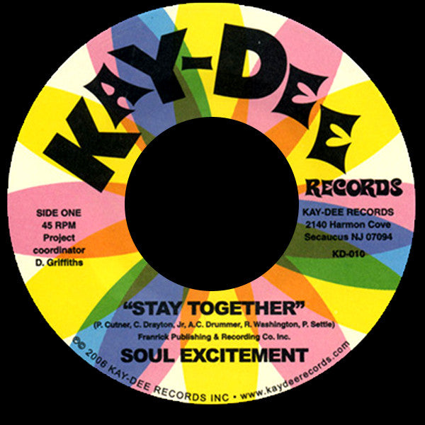 KD-010 Soul Excitement-Stay Together