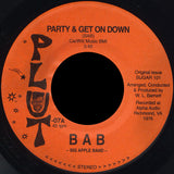 Plut-07 Big Apple Band-Party & Get On Down/Pinch Of Perfection-All That's Left Is Memories