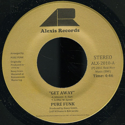 ALX-2010 Pure Funk-Nothing Left Is Real/Get Away