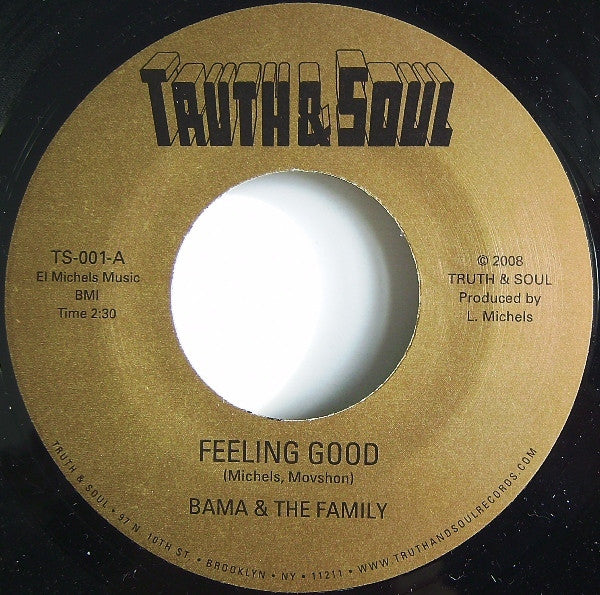 TS-001 Bama & The Family-Feeling Good/Asiko-Drums of Asiko