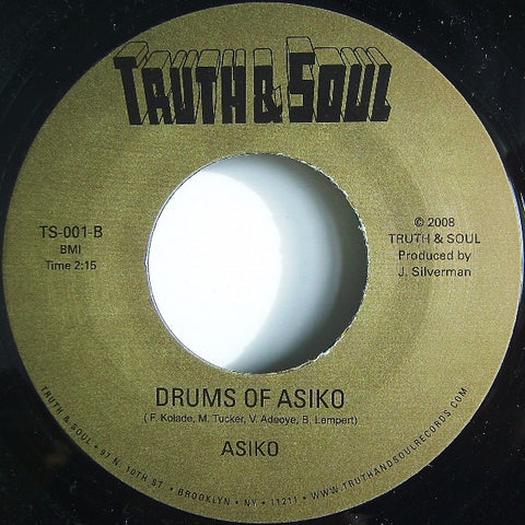 #479 Drums of Asiko -  Asiko / Feeling Good Mama & The Family