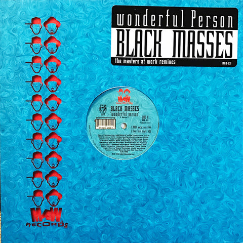 Maw-031 Wonderful Person - Black Masses (Masters At Work Remixes)