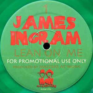 Maw-056 Lean On Me - James Ingram (Masters At Work) (Green X-mas Promo)