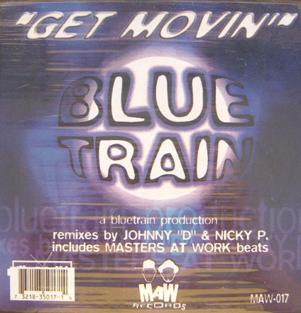 Maw-017 Get Movin' - Blue Train