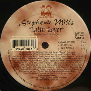 Maw-043 Latin Lover - Stephanie Mills (Masters At Work)