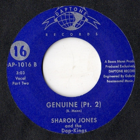 #9 (DAP-1016) Sharon Jones & The Dap Kings-Genuine