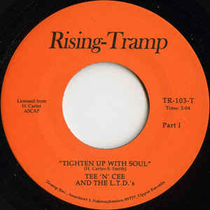 TR-103 Tighten Up With Soul/Too Hot To Hold - The U-F-O's