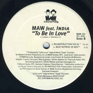 Maw-042 Maw Feat. India (1999 Remixes)