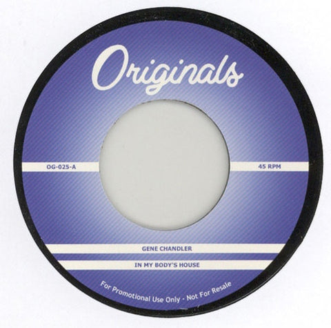 OG-025 Gene Chandler-In My Body's House/Baby Huey-Hard Times