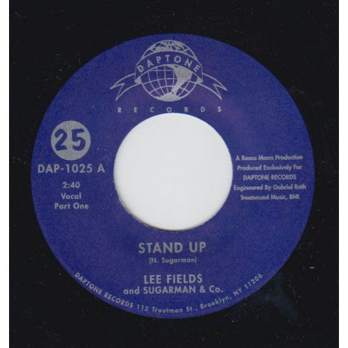 #147 DAP-1025 Lee Fields and Sugarcane & Co.-Stand Up Pts 1&2