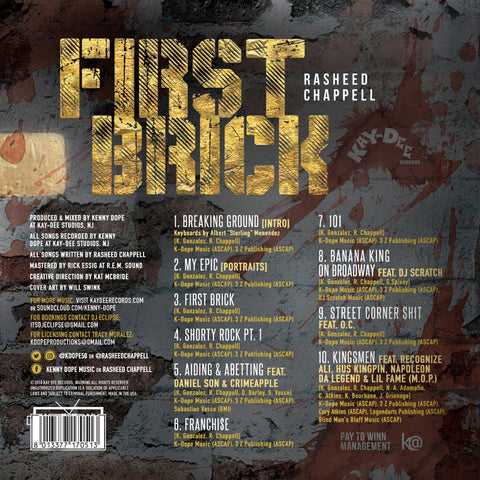 First Brick - Rasheed Chappell Album