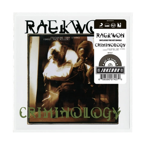 #158 (GET-742) Raekwon-Criminolgy B/W Glaciers Of Ice