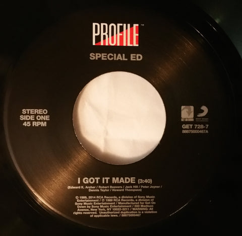 # 49 Special Ed-I Got It Made/I Got It Made (Businesslike Version)
