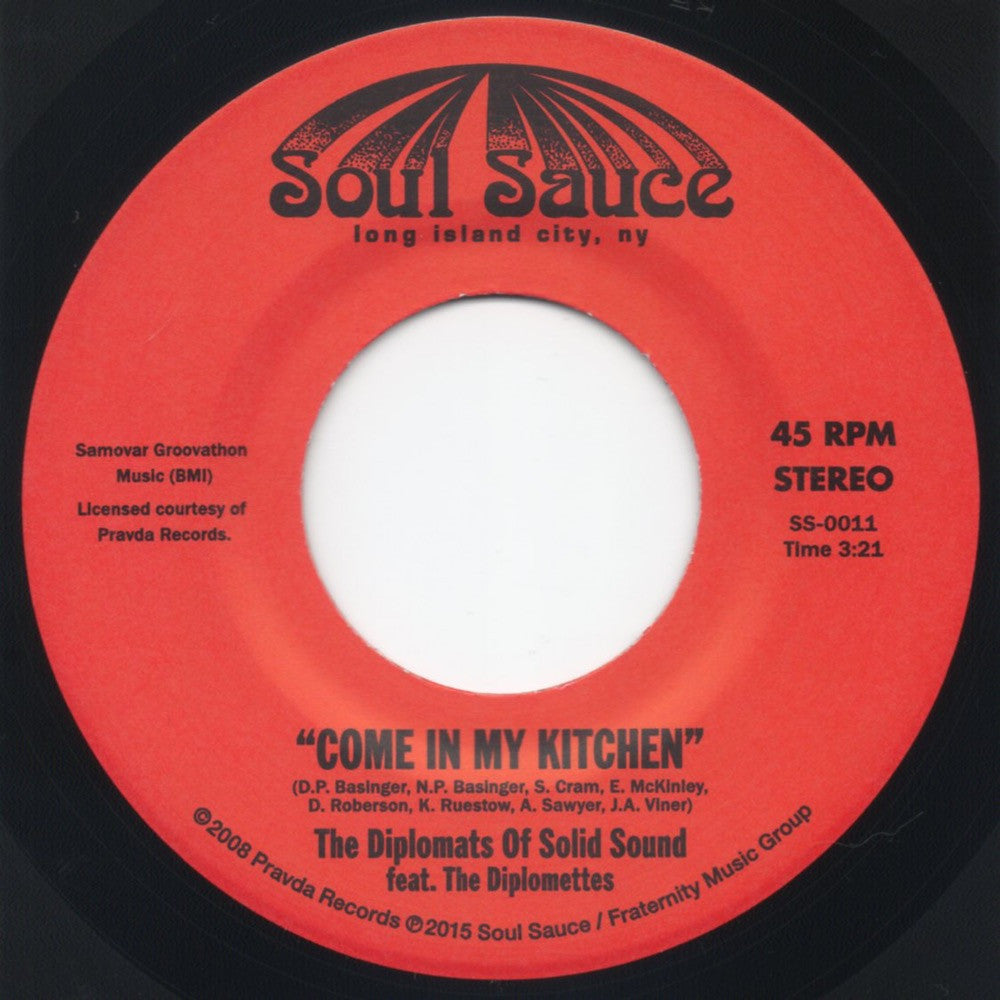 SS-0011 Diplomats Of Solid Sound-Come Into My Kitchen/Wicked One Hop