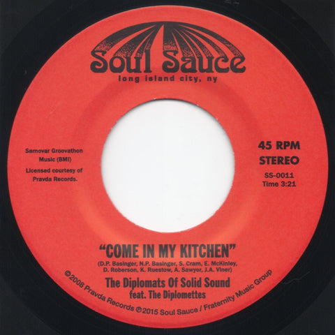 # 37 (SS-0011) Diplomats Of Solid Sound-Come Into My Kitchen/Wicked One Hop