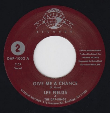 DAP-1002 Lee Fields-Give Me A Chance PT. 1 & 2