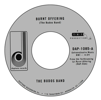 DAP-1085 The Budos Band-Burnt Offering/Seizure