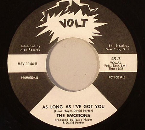 MFV-1146 The Charmels / The Emotions - As Long As I've Got You