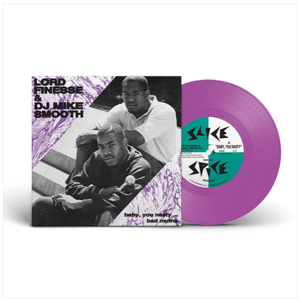 #120 Lord Finesse & DJ Mike Smooth - Baby, You Nasty/Bad Mutha (Purple Vinyl)
