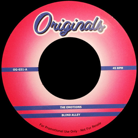 OG-031 The Emotions-Blind Alley/Big Daddy Kane-Ain't No Half Steppin'