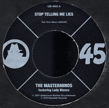 # 35 (UB-4503) The Masterminds-Stop Telling Me Lies