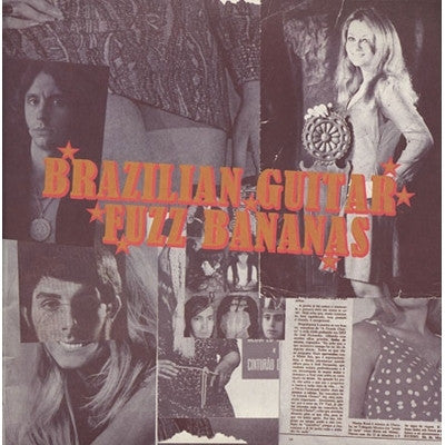 Various Artists-Brazilian Guitar Fuzz Bananas