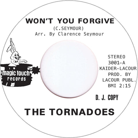 3001 The Tornadoes-Won't You Forgive/Feel Like A Fool