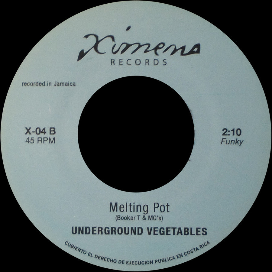 X-04 Underground Vegetables-Melting Pot