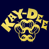 Kay-Dee T-Shirt (Yellow On Navy)