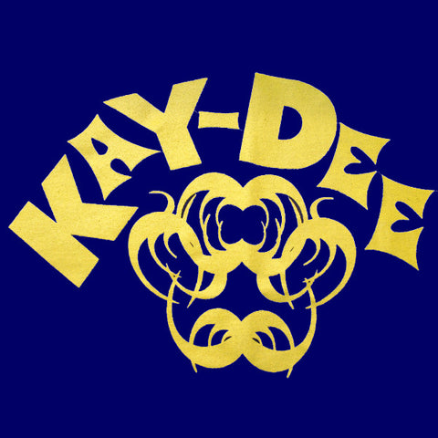 Kay-Dee T-Shirt (Yellow On Royal)