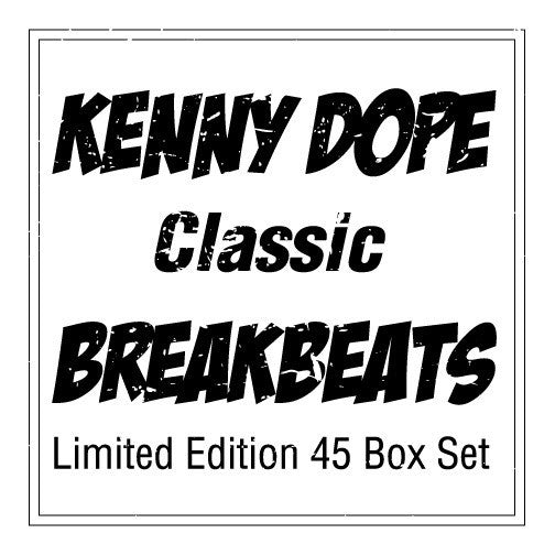 "KD-050/KD-055 Kenny Dope ""Classic"" Break Beats Limited Edition"