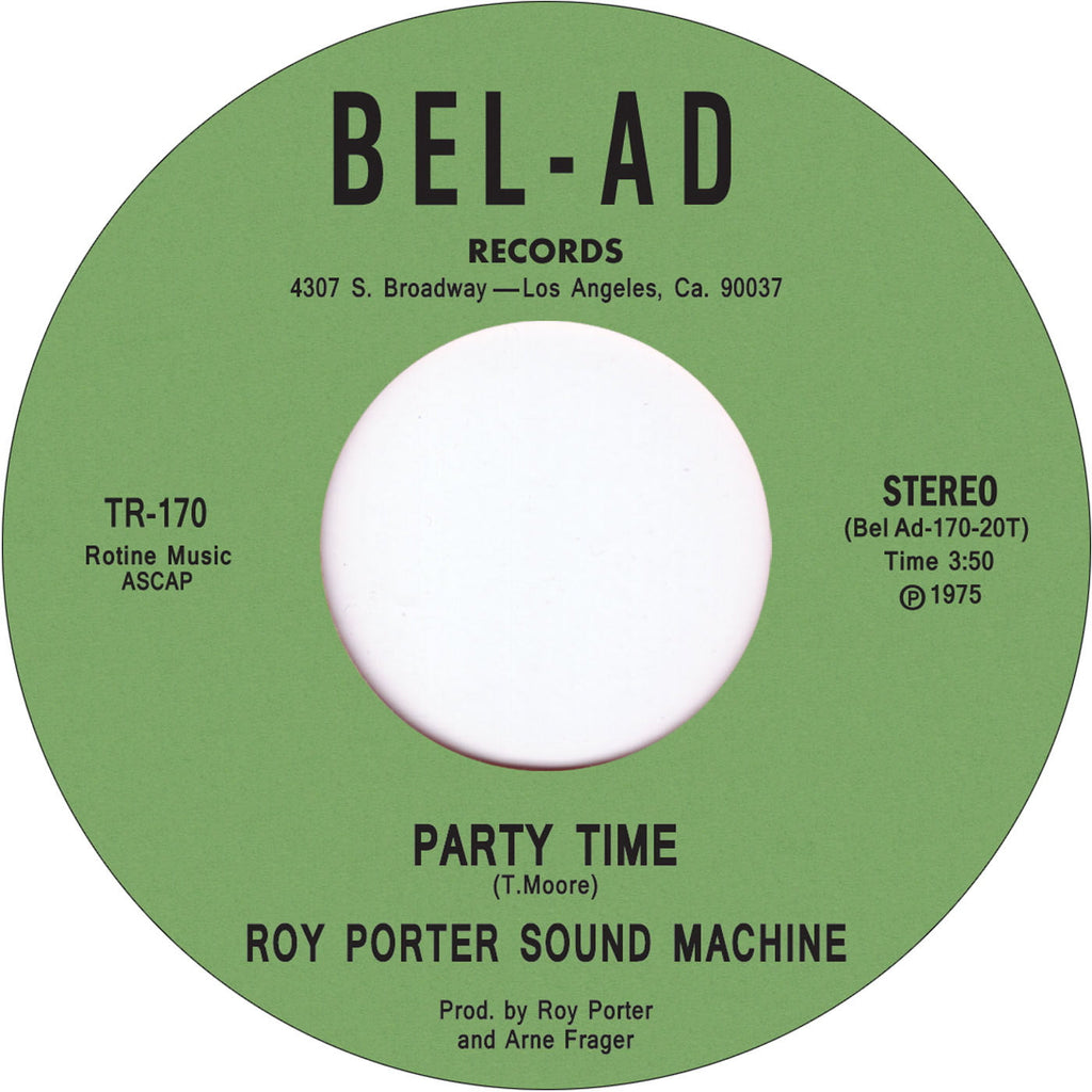 TR-170 Roy Porter Sound Machine-Party Time/Out On The Town Tonight