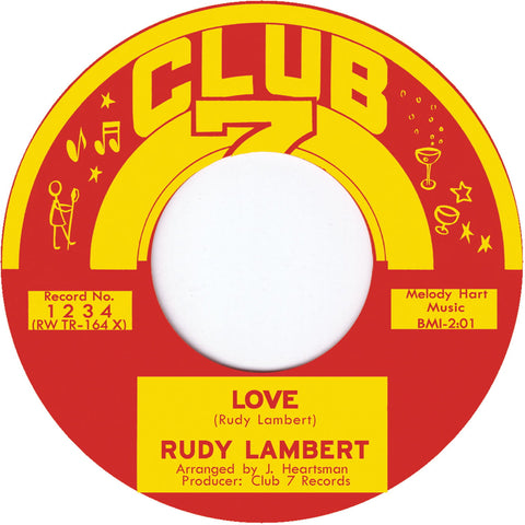 TR-1234 Let's Stick Together/Love - Rudy Lambert