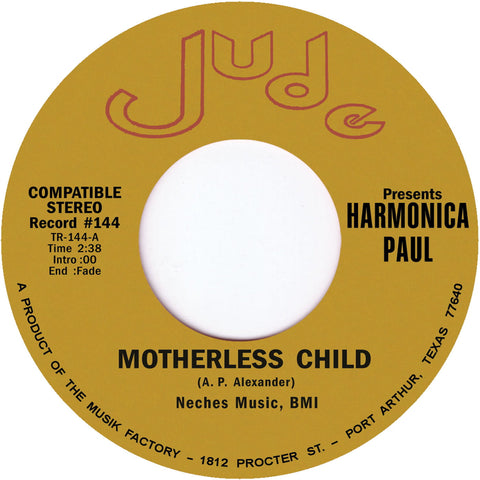 TR-144 Harmonica Paul-Motherless Child