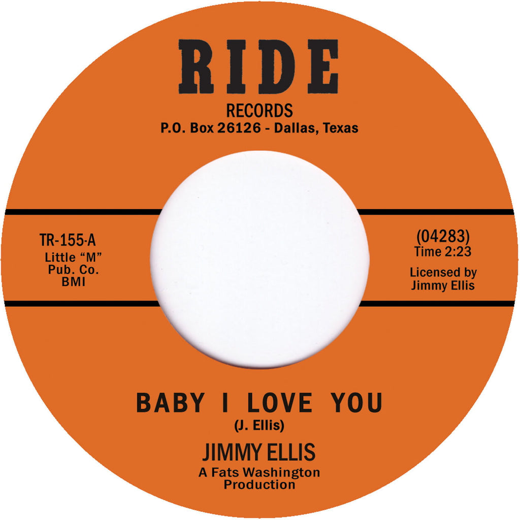 TR-155 Jimmy Ellis-Baby I love You/Kiddio