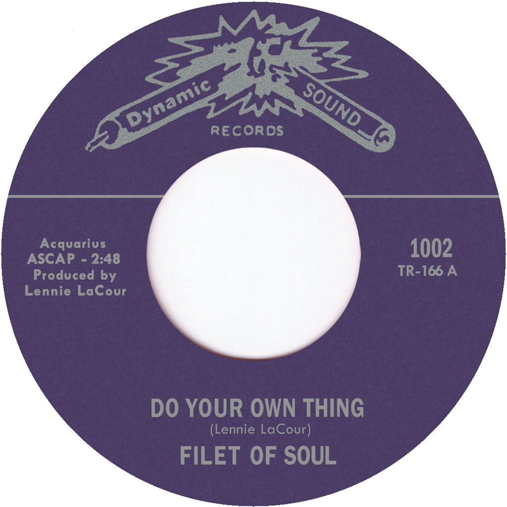 TR-1002 Do Your Own Thing/Sweet Lovin' - Filet Of Soul