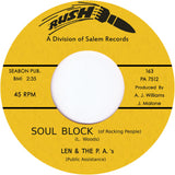 TR-163 Soul Block/Believe Me - Len & The P.A.'s