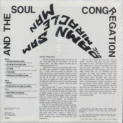 #230 (TS-001) Damn Sam The Miracle Man And The Soul Congregation
