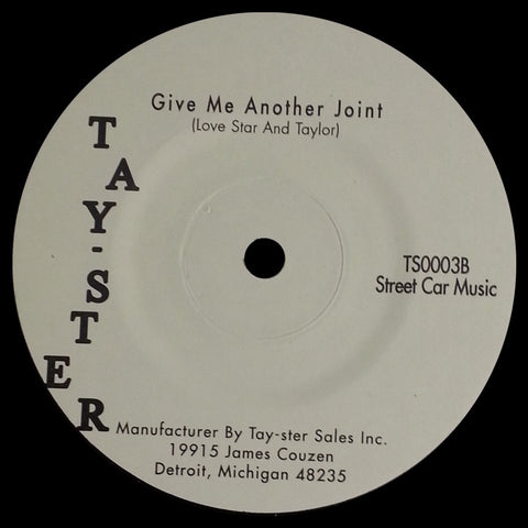 TS-0003 Love Star And Taylor-Damn Sam The Miracle Man/Give Me Another Joint