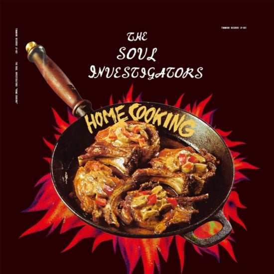 #219 The Soul Investigators - Home Cooking LP-001