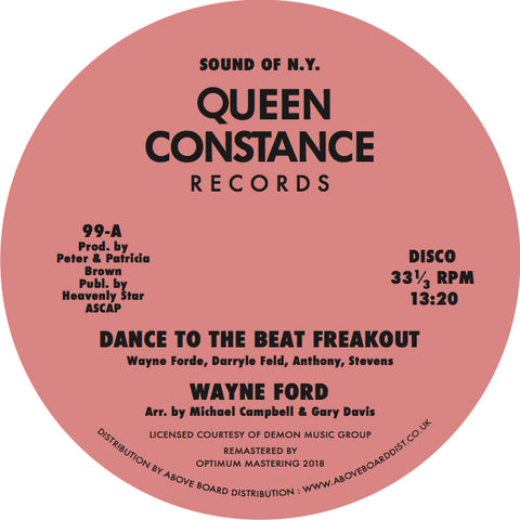 #442 Dance To The Beat Freakout / The Best Thing In Life - Wayne Ford